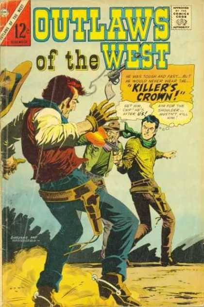 Outlaws of the West 61 - Wild West - Shooting - Guns - Killers Crown - Cowboys