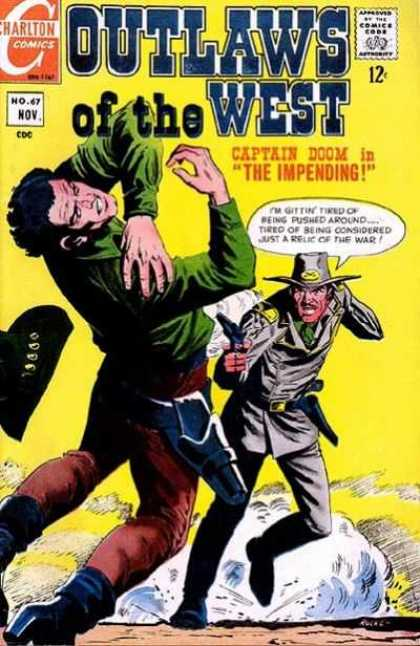 Outlaws of the West 67 - Captain Doom - Impending - Charlton - Gunfire - Pushed Around