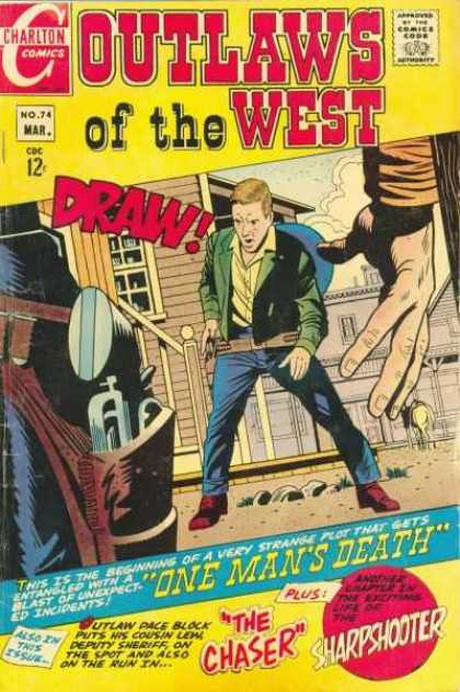 Outlaws of the West 74 - Action - Hero - Guns - America - Fighting