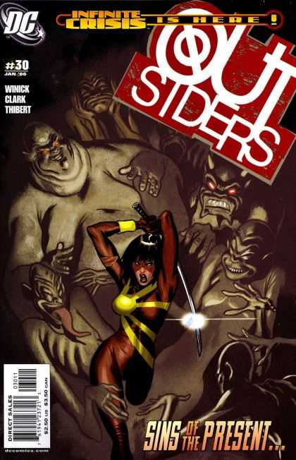 Outsiders 30 - Infinite Crisis Is Here - Sword - Sins Of The Present - Clark - Thibert