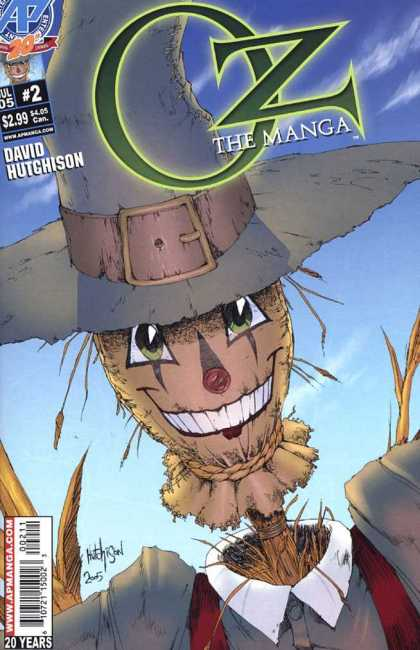 Oz the Manga 2 - David Hutchison - Ap Manga - 20 Years - Hat - Scarecrow