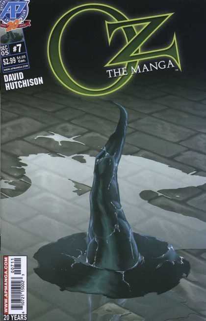 Oz the Manga 7 - Ap Comics - Oz - Manga - David Hutchison - Oz The Manga