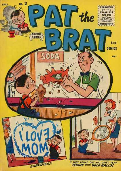 Pat the Brat 2 - Pat - Brat - Archie Series - Comics - 2