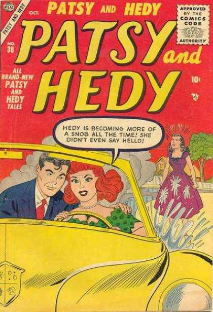 Patsy and Hedy 38 - Car - Smoke - Puddle - Tree - House