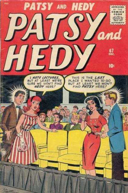 Patsy and Hedy 67 - Movie Theatre - 10 Cents - Paty - Hedy - Date