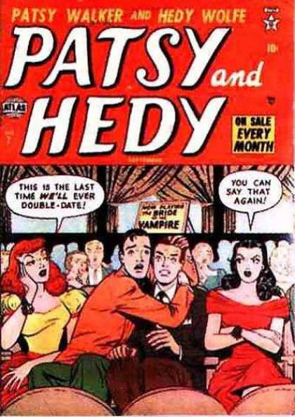 Patsy and Hedy 7 - Every Month - Man - Woman - Seat - Vampire
