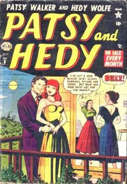 Patsy and Hedy 8 - Patsy Walker - Hedy Wolfe - Dance - Oct No 8 - Buzz