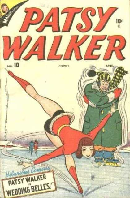 Patsy Walker 10 - Figure Skate - Cold - Ice - Wedding Belles - Hilarious Comedy