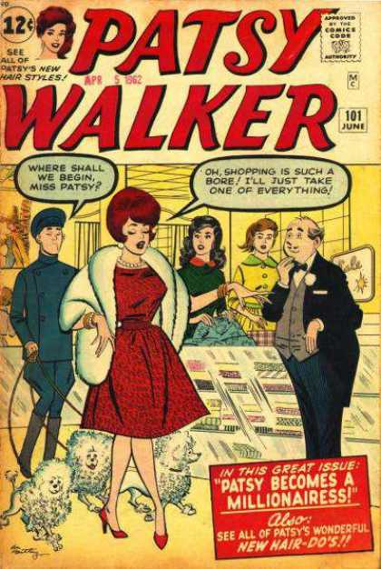 Patsy Walker 101 - Rich - High Class - Wealthy - Shopping - Becoming A Millonare