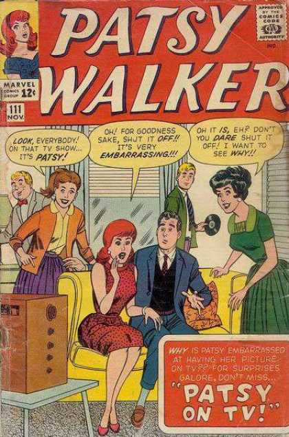 Patsy Walker 111 - Patsy On Tv - Embarrassing - Shut It Off - Surprises Galore - Living Room