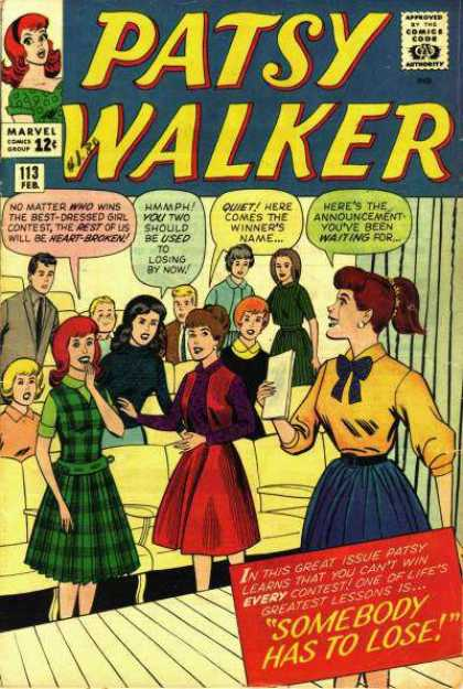 Patsy Walker 113 - 113 - Somebody Has To Loose - Auditorium - Teenagers - Stage