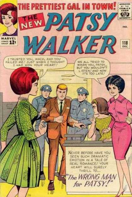 Patsy Walker 118 - The Prettiest - Gal - In Town - Policemen - Women