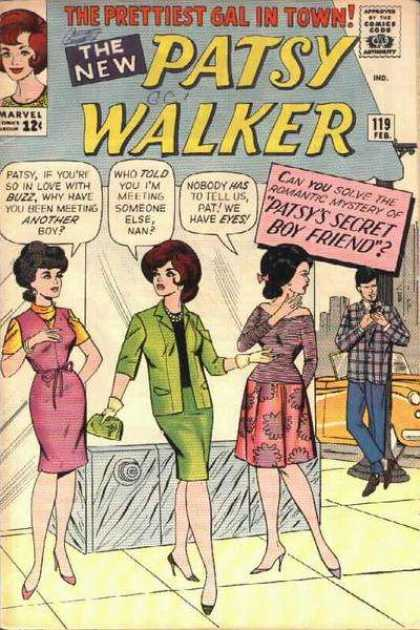 Patsy Walker 119 - Secret - Buzz - Eyes - Mystery - Nan