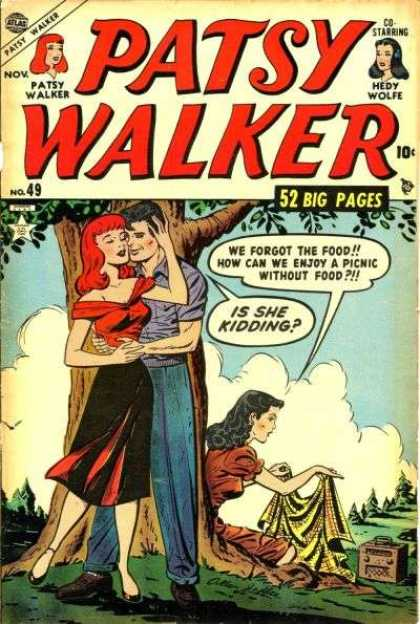 Patsy Walker 49 - Who Needs Food When I Have You - Why Go For Average - Two For The Money - Enjoyment In Pairs - No Food Requied