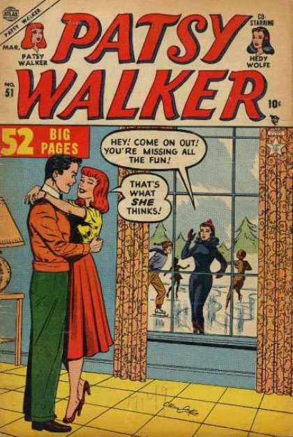 Patsy Walker 51 - Wolfe - Girls - Skating - Ice - Snow