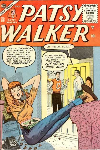 Patsy Walker 59 - Buzz Baxter - Telephone - Father - Chocolates - Front Door