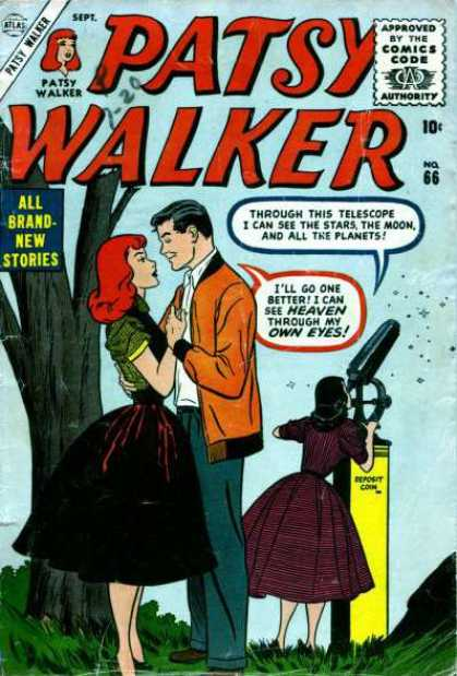 Patsy Walker 66 - Telescope - Heaven - Brand New Stories - Tree - Eyes