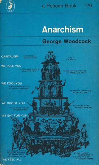Pelican Books - 1962: Anarchism (George Woodcock)