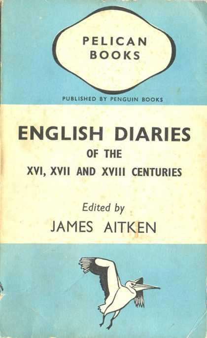Pelican Books - 1941: English Diaries (James Aitken)