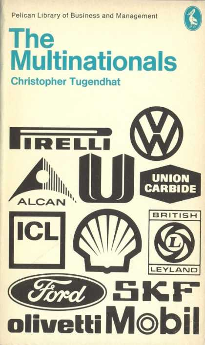 Pelican Books - 1973: The Multinationals (Christopher Tugendhat)