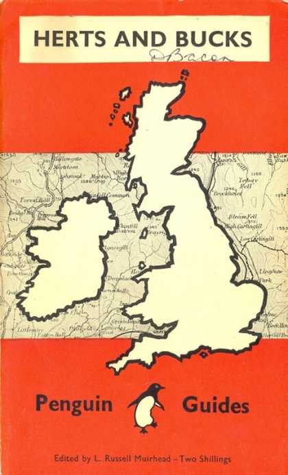 Pelican Books - 1949: Herts and Bucks (The Penguin Guide)