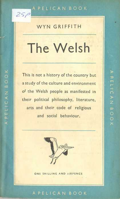 Pelican Books - 1950: The Welsh (Wyn Griffith)
