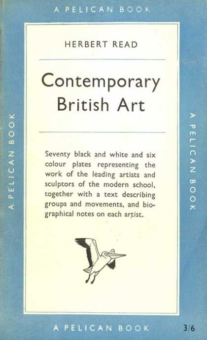 Pelican Books - 1951: Contemporary British Art (Herbert Read)