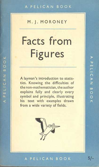 Pelican Books - 1951: Facts from Figures (M.J.Moroney)