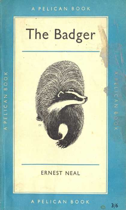 Pelican Books - 1958: The Badger (Ernest Neal)