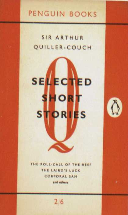 Penguin Books - Sir Arthur Quiller-Couch: Selected Short Stories