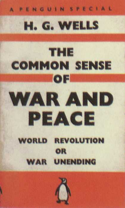 Penguin Books - The Common Sense of War and Peace