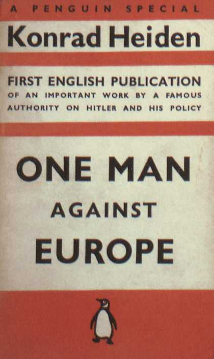 Penguin Books - One Man Against Europe