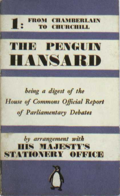 Penguin Books - The Penguin Hansard