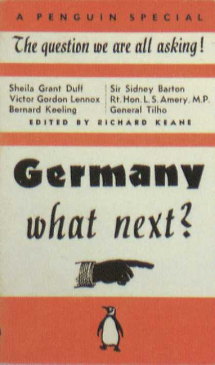 Penguin Books - Germany What Next?