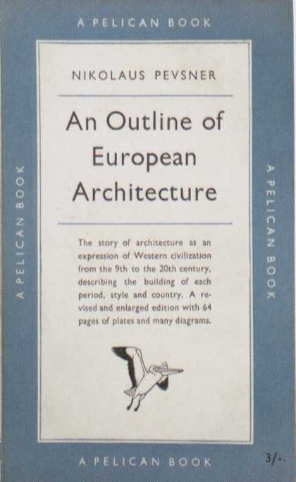 Penguin Books - An Outline of European Architecture