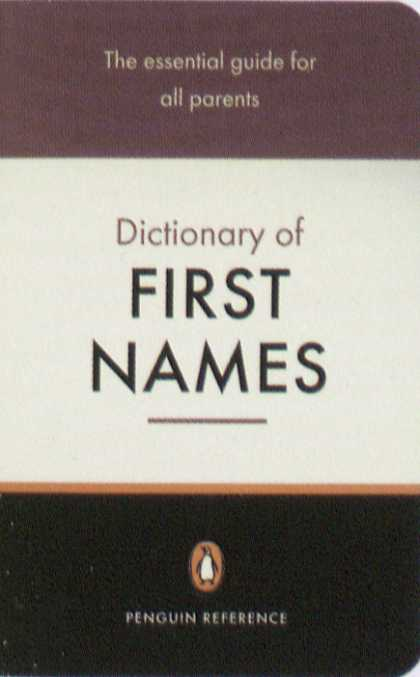 Penguin Books - Dictionary of First Names