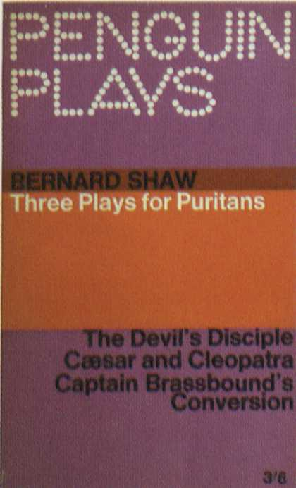Penguin Books - Three Plays for Puritans