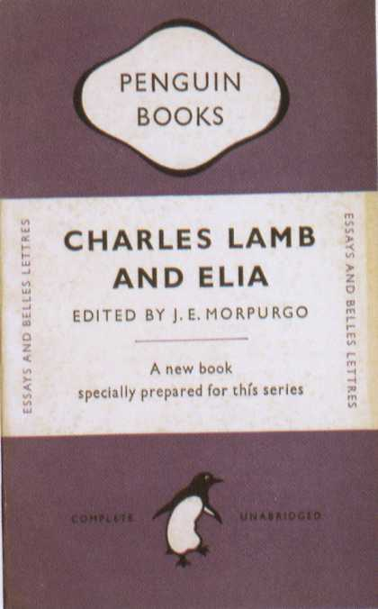 Penguin Books - Charles Lamb and Elia