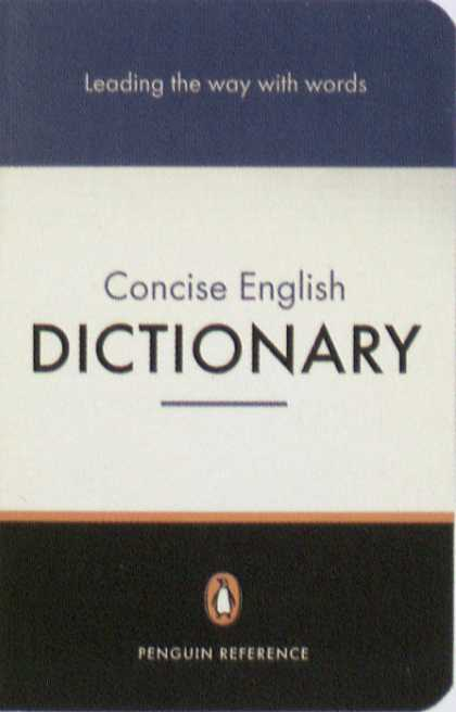 Penguin Books - Penguin Concise English Dictionary