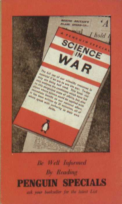 Penguin Books - Penguin Specials: Science in War