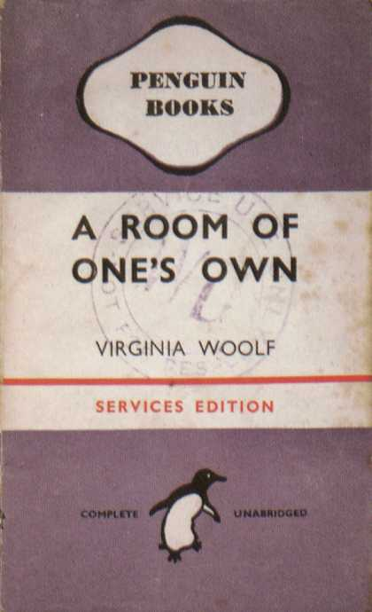 Penguin Books - A Room of One's Own