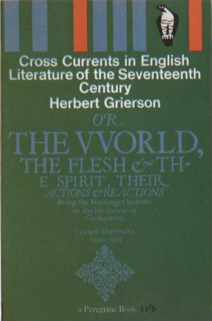 Penguin Books - Cross Currents in English Literature of the Seventeenth Century