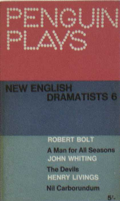 Penguin Books - New English Dramatists 6