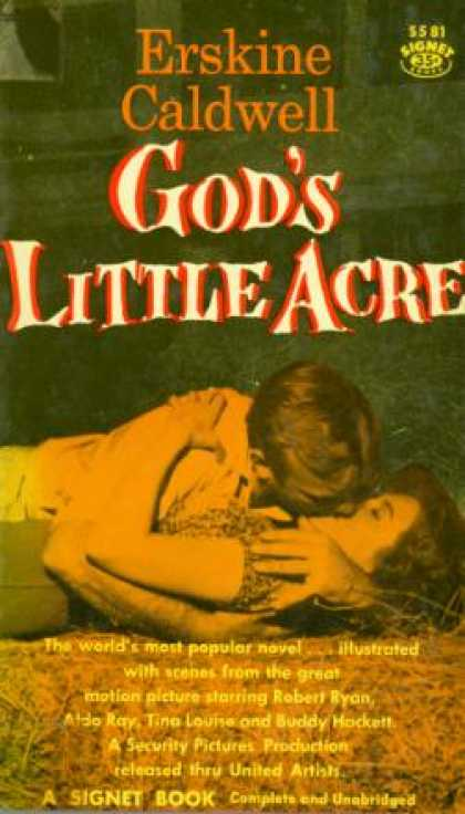 Penguin Books - God's Little Acre (signet Books, S581) - Erskine Caldwell