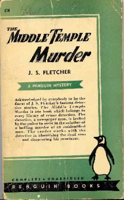 Penguin Books - The Middle Temple Murder