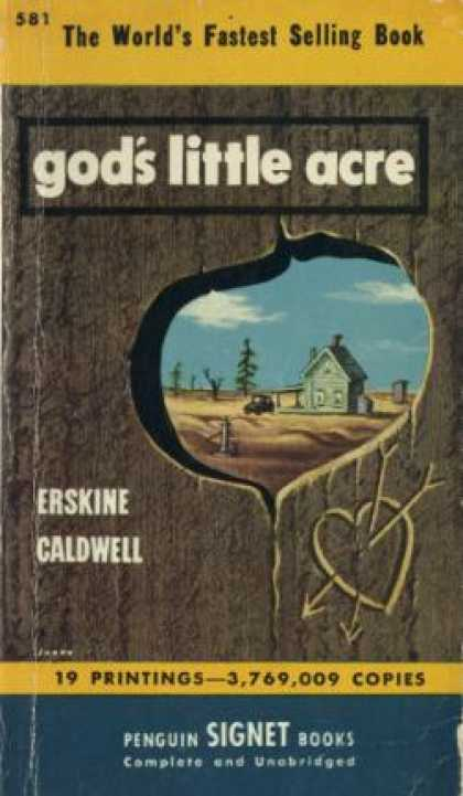 Penguin Books - Gods Little Acre By Erskine Caldwell - Erskine Caldwell