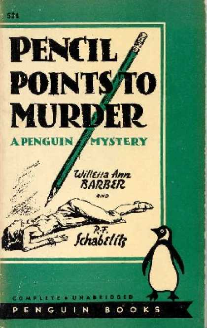 Penguin Books - Pencil Points To Murder; a Christopher Storm Mystery