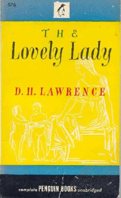 Penguin Books - The Lovely Lady - D. H. Lawrence