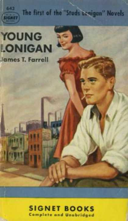 Penguin Books - Young Lonigan - James T. Farrell