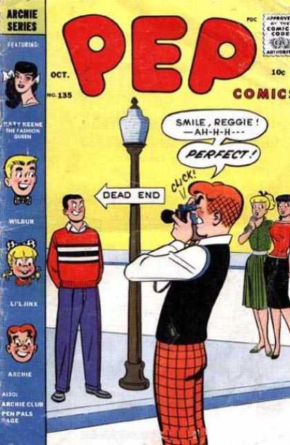 Pep Comics 135 - Archie - Archie Comics - Pep - Camera - Girls